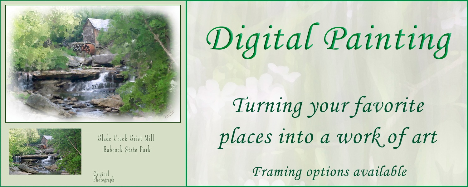 Digital Paintings - Places